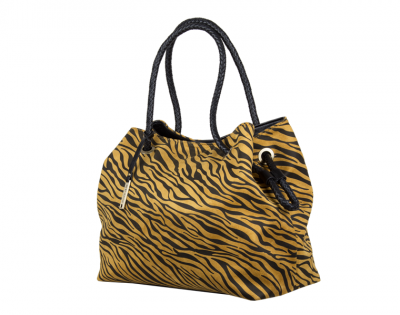 31017 Zebra shopper dark yellow